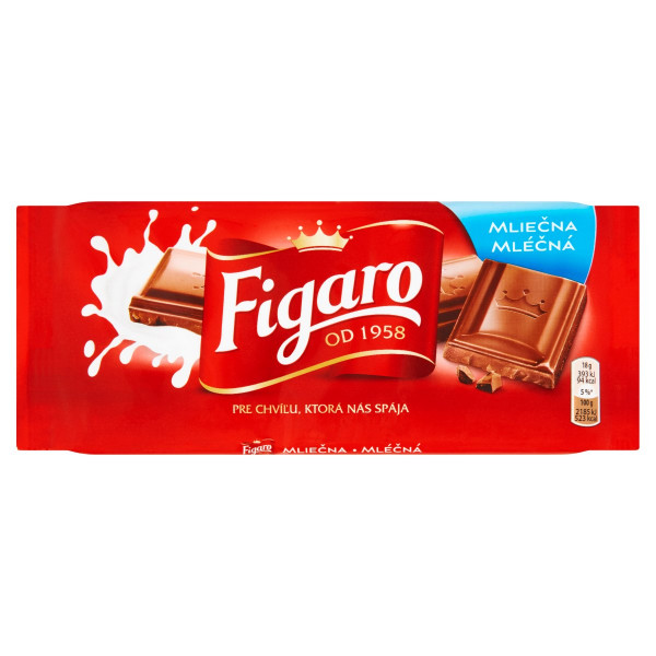 Figaro mliečna čokoláda 90 g 1