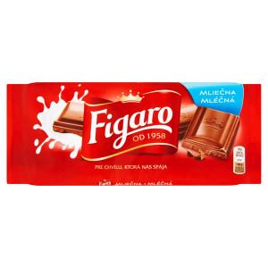 Figaro mliečna čokoláda 90 g 8