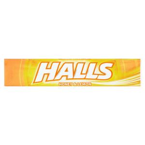 Halls cukríky med a citrón 33,5 g 4