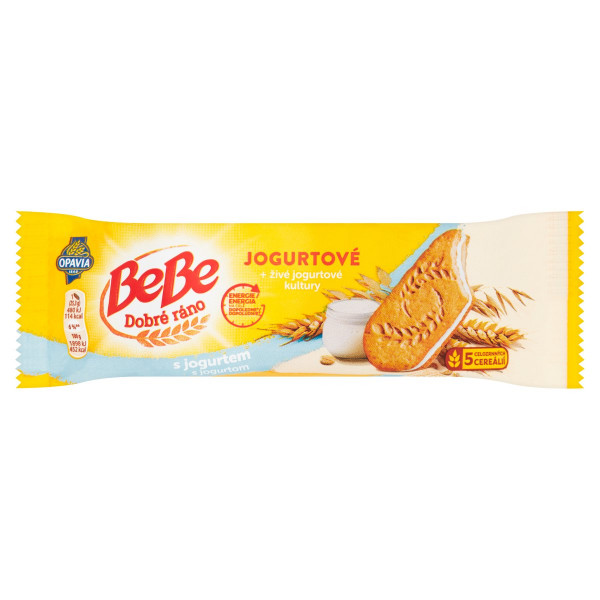 Opavia BeBe Dobré Ráno sušienky s jogurtom 50,6 g 1