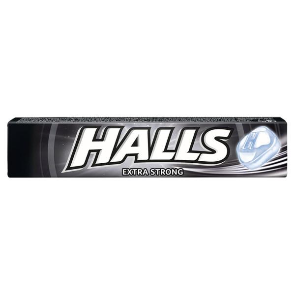 Halls EXTRA STRONG cukríky mentol a eukalyp.33,5 g 1