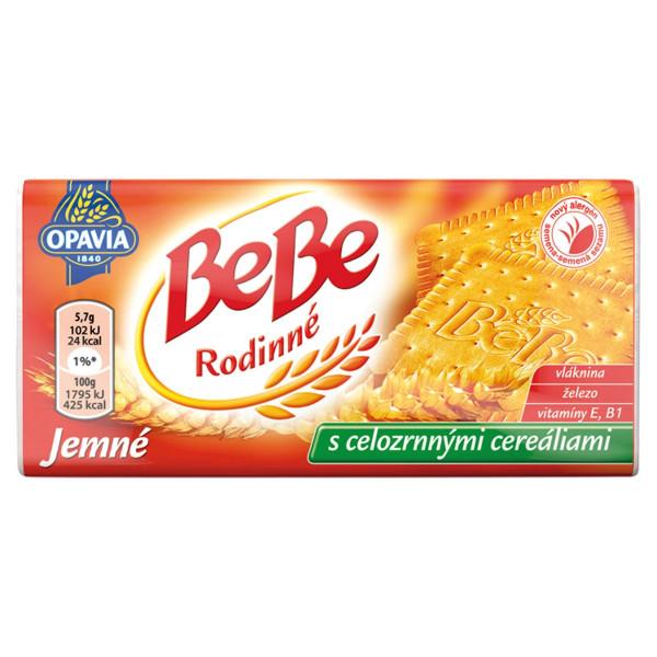 Opavia BeBe Rodinné jemné cereálne sušienky 130 g 1