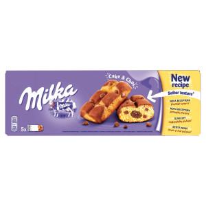 Milka Cake & Choc jemné pečivo čokolád. náplň 175g 9