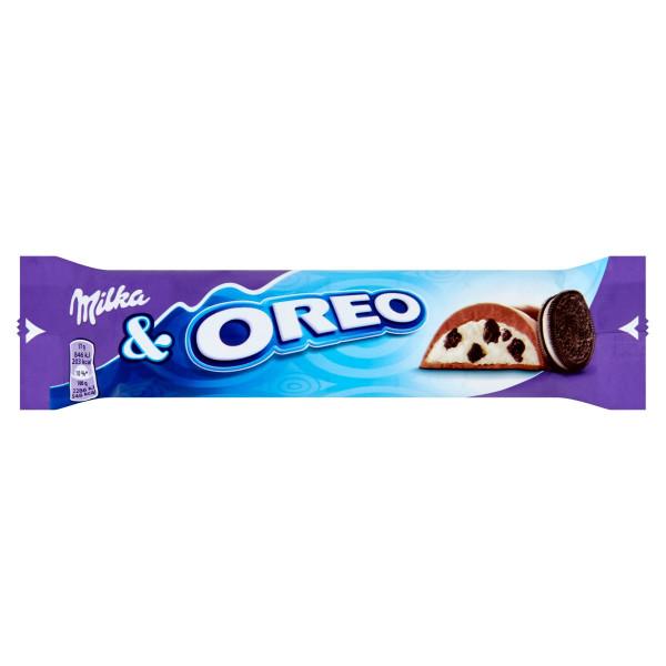 Milka Oreo tyčinka s kúskami sušienok v ml.čok.37g 1
