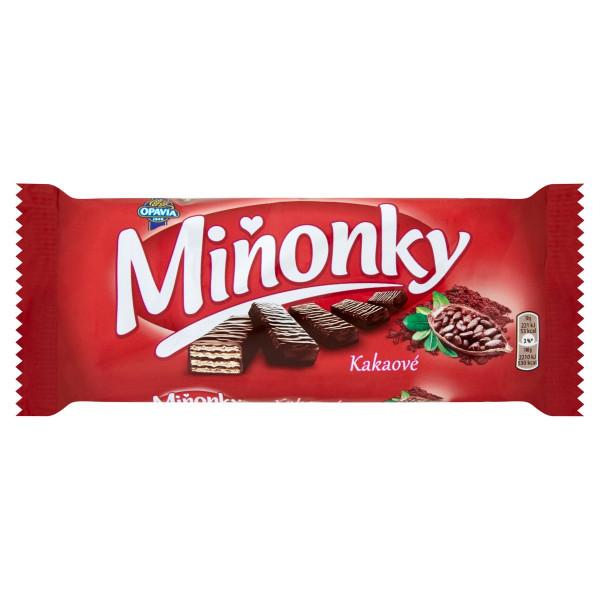 Opavia Miňonky Kakaové oplátky 50 g 1