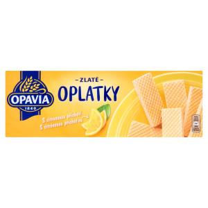 Opavia Zlaté Oplátky citrónová príchuť 146 g 9
