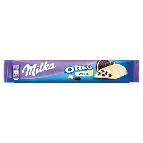 Milka Oreo White tyčinka s kúskami sušienok 41 g 1