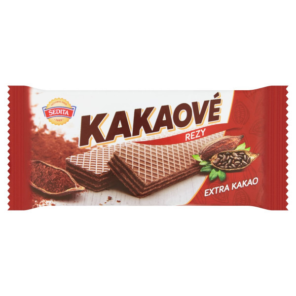 Kakaové rezy extra kakao, Sedita 50 g 1