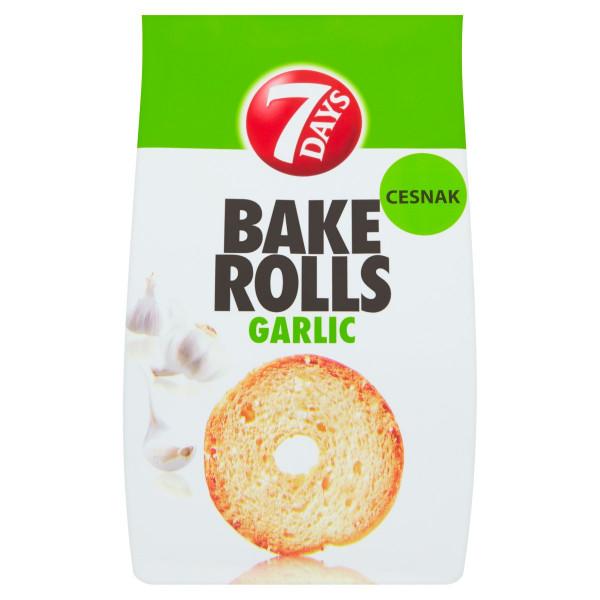 7 Days Bake Rolls cesnak 80 g 1