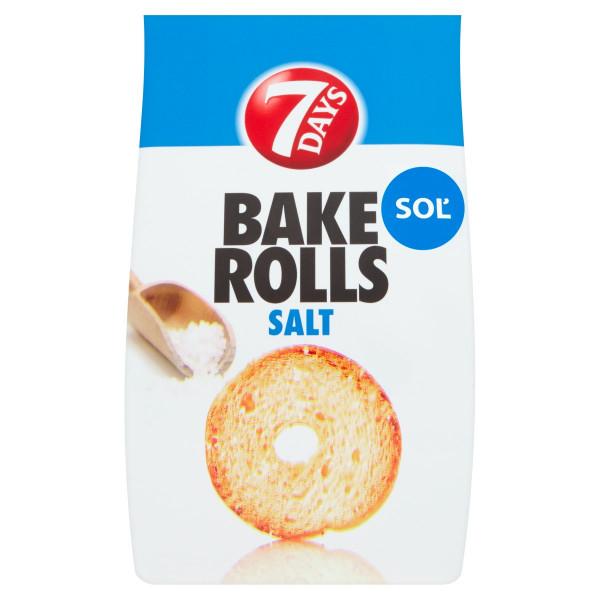 7 Days Bake Rolls soľ 80 g 1