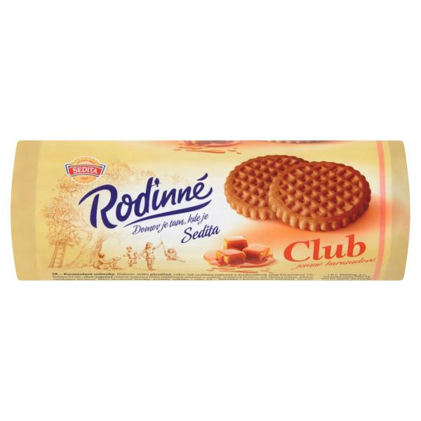Rodinné Club jemné karamel. sušienky, Sedita 134 g 1