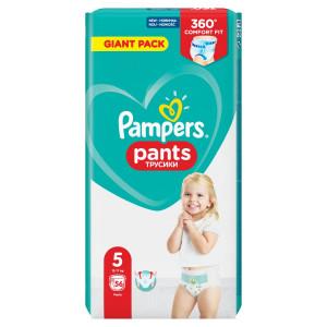 Pampers Plienkové nohavičky Veľ.5, 12-17kg, 56ks 7