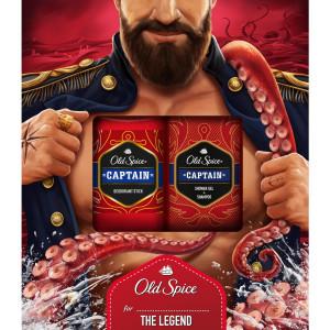 Darčeková kazeta pre mužov Old Spice Captain 4
