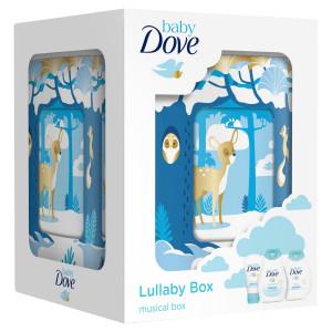 Darčeková kazeta Dove Baby s hracou skrinkou 1