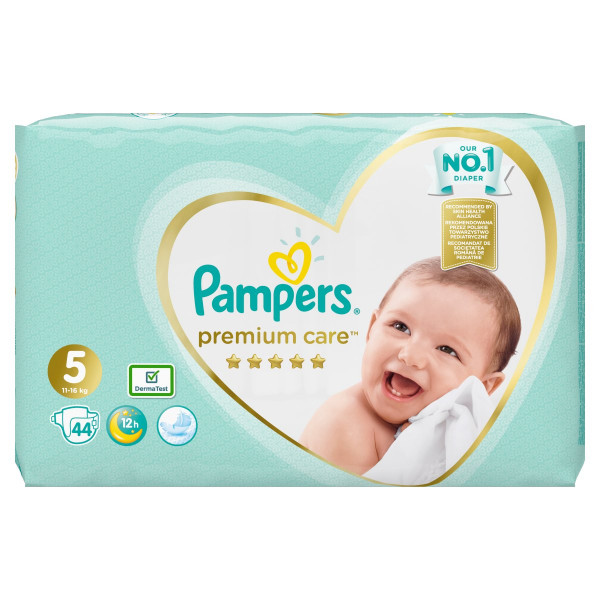 Pampers Premium Care Veľ.5, 11-16kg, Plienky 44ks 1