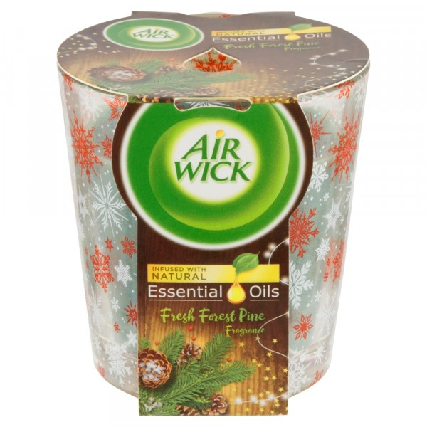 Vonná sviečka Air Wick Essential Oils Fresh Forest 1