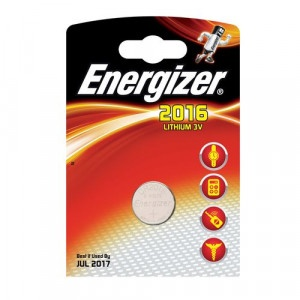 Batéria gombikova CR2016 Li 1ks Energizer 19