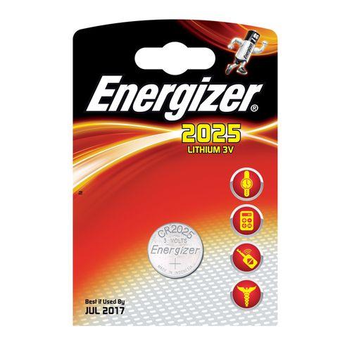 Batéria gombikova CR2025 Li 1ks Energizer 1