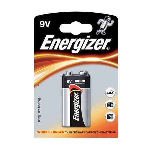 Batérie 9V Power Alk 1ks Energizer 1