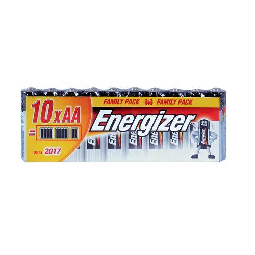 Batérie AA FP Alk 10ks Energizer 1