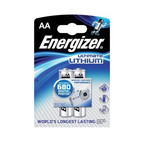 Batérie AA Ultimate Li 2ks Energizer 1