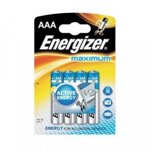 Batérie AAA Maximum Alk 4ks Energizer 116