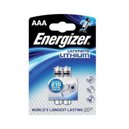 Batérie AAA Ultimate Li 2ks Energizer 1