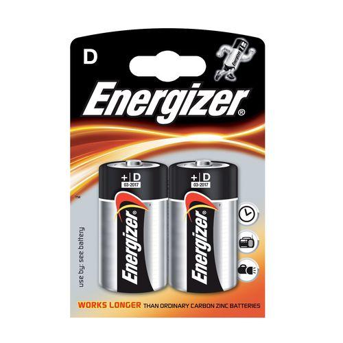 Batérie D Power Alk 2ks Energizer 1