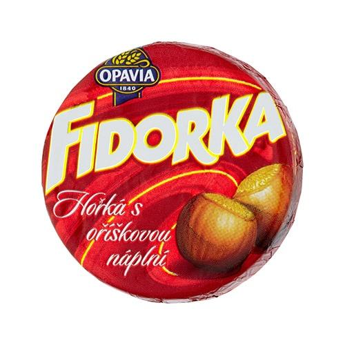 Opavia Fidorka Horká s orieškovou náplňou 30 g 1