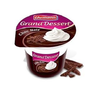 Grand Dessert Choc Noir EHRMANN 190g 19