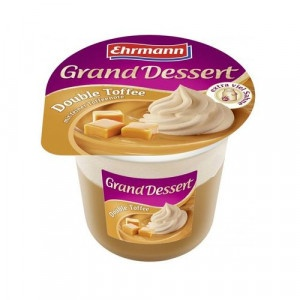 Grand Dessert Double Toffee EHRMANN 190g 22