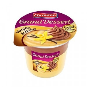 Grand Dessert Vanilla Choco EHRMANN 190g 23