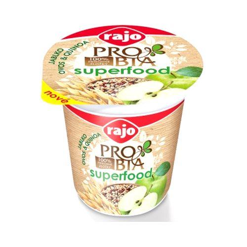Jogurt PROBIA SUPERFOOD Jablko RAJO 135g VÝPREDAJ 1