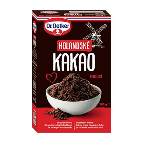 Kakao holandské Dr. Oetker 100g 1