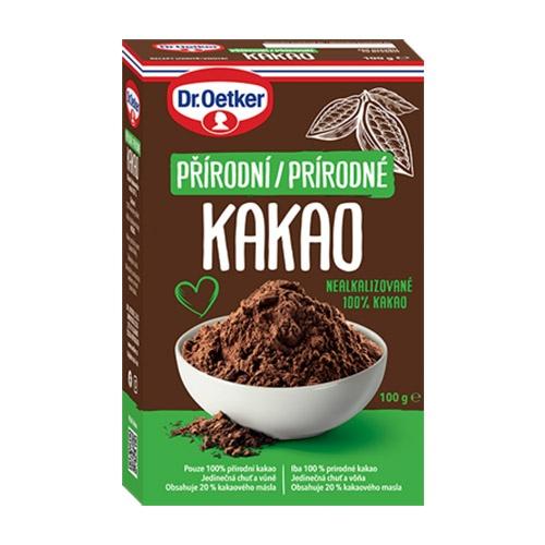 Kakao prírodné Dr. Oetker 100g 1