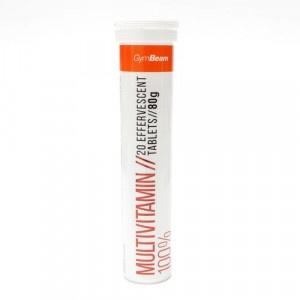 Multivitamín 100% 20ks šumivých tab. 80 g GymBeam 19