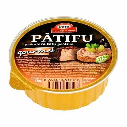 PÂTIFU Tofu paštika gourmet 100g Veto Eco 1