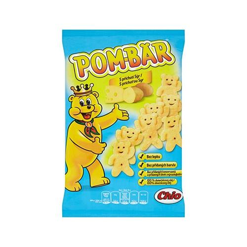 Pom-Bär Smažený zemiakový snack s prích. syr 50 g 1