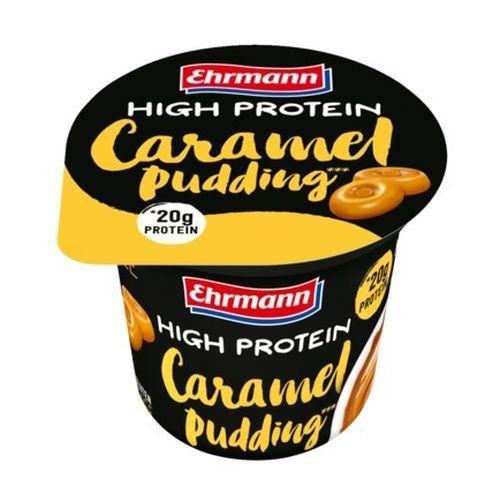 Puding karamel high protein EHRMANN 200g 1