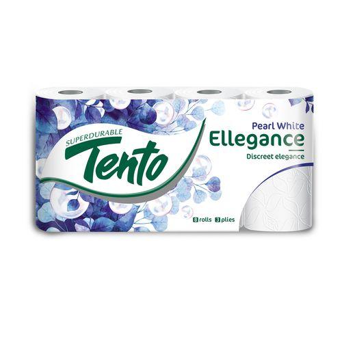 Tento Ellegance Pearl toaletný papier 3 vrstvy 8ks 1
