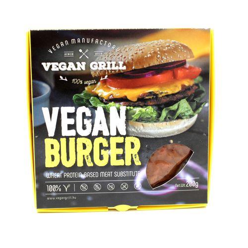 Vegan Burger, Vegán Grill 200g 1