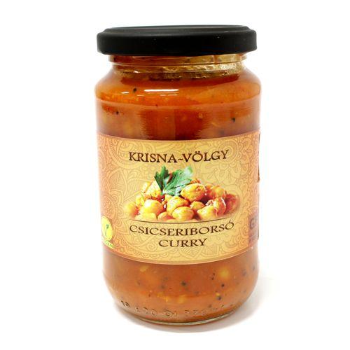 Vegan Omáčka cícer curry, Krisna-völgy 350g 1