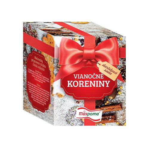 Vianočná krabička korenín 289g Mäspoma 1