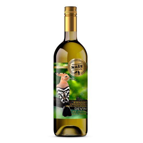 Víno b. Devín, Naše vinohrady 0,75l SK 1