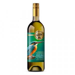 Víno b. Rizling rýnsky, Naše vinohrady 0,75l SK 14