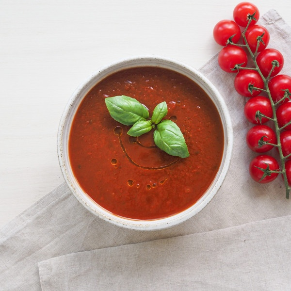 Paradajková poliev. s bazalkou 500g, Super Jedlo 2