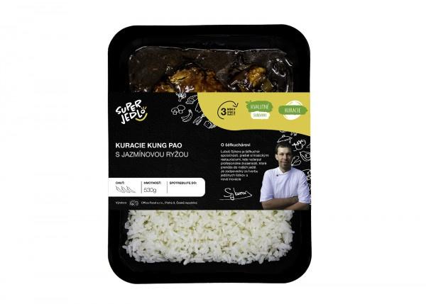 Kuracie kung pao s jazmín. ryžou 530g, Super Jedlo 1