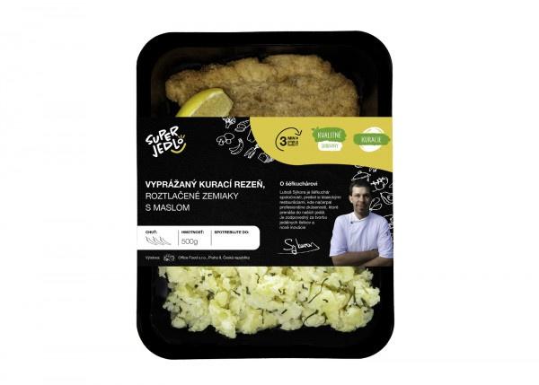 Vypr.kur.rezeň,roztlač.zemiaky 500g, Super Jedlo 1