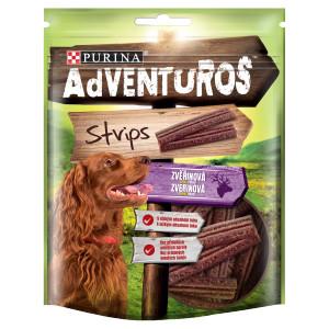 Adventuros Strips s príchuťou zveriny 90 g 9