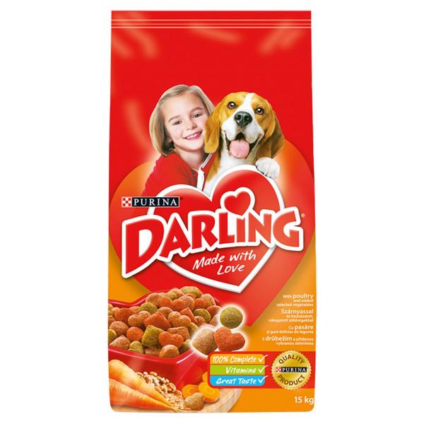 Darling s hydinou a pridanou zeleninou 15 kg 1